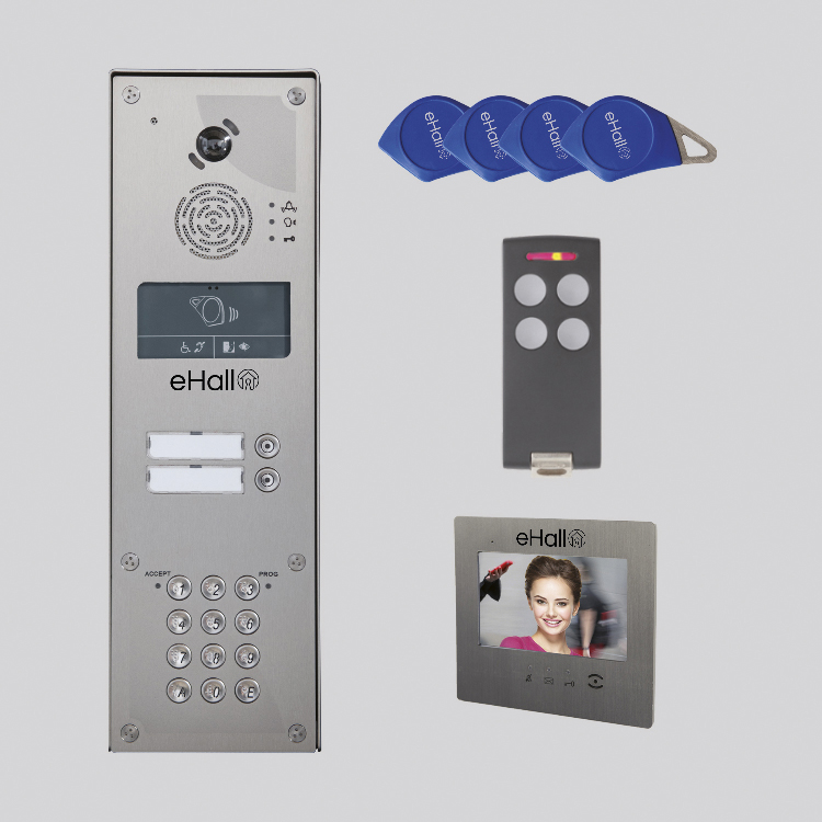"""Kit video IP 1 BP saillie - Moniteur 7"""""""