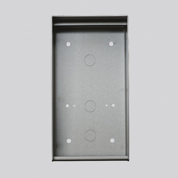 Boitier saillie inox verni pour platine ou plaque 420 x 160.