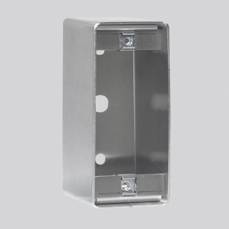 Boitier saillie inox 40x100 pour PL40/NFLH